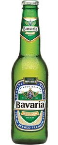 Bavaria old green bottle