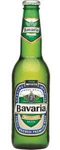 Bavaria old green bottle